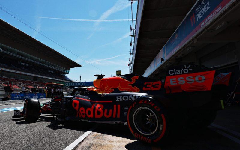 Max Verstapen Red Bull F1 Spanish GP 2021 Qualifying