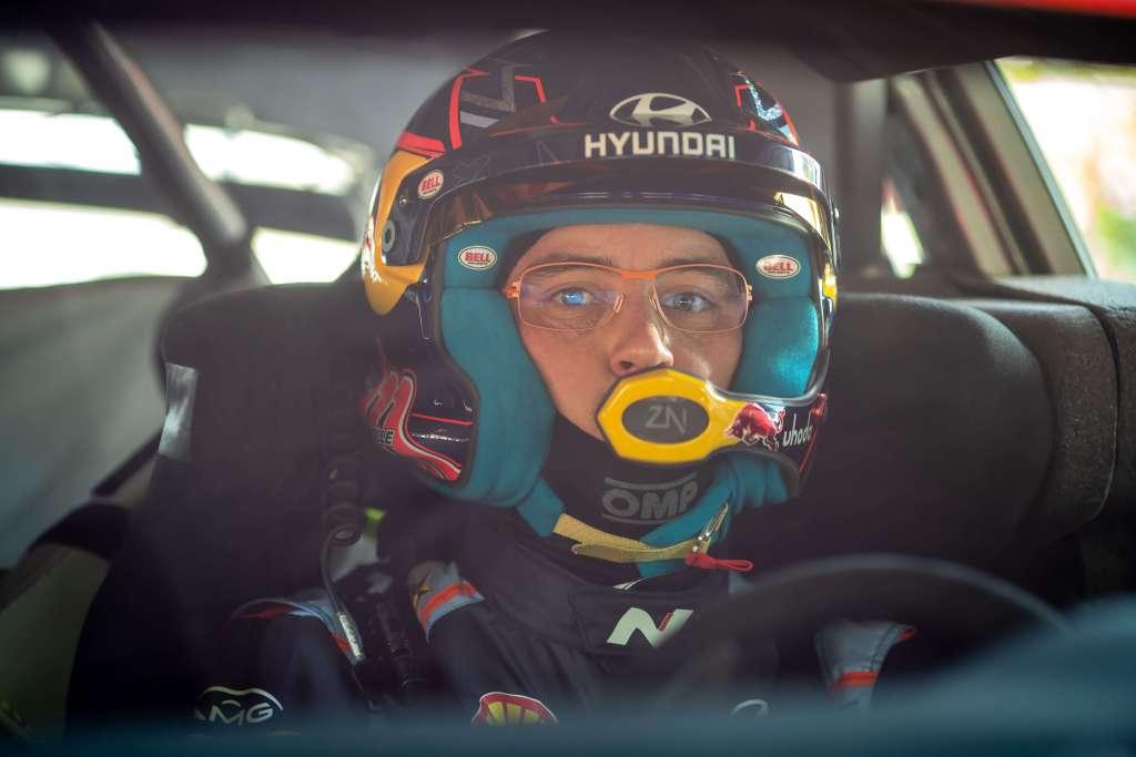 Thierry Neuville Hyundai i20 Coupe WRC 2021