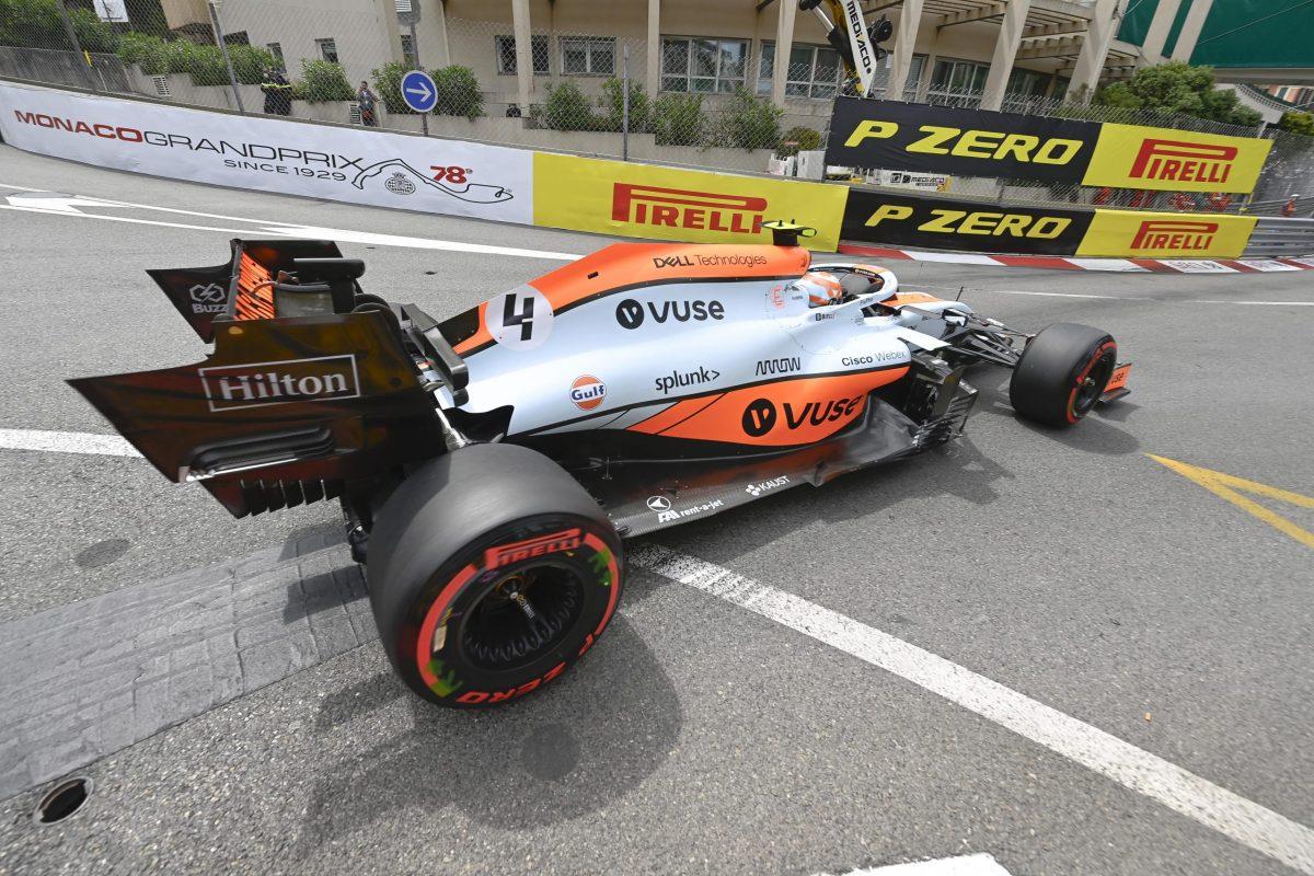 Lando Norris McLaren Monaco gp 2021 3rd place