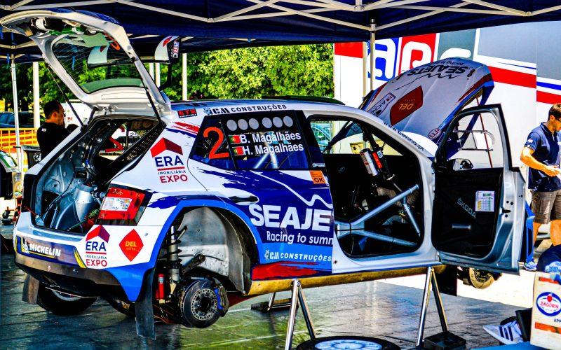Rally Ακρόπολις Service Park