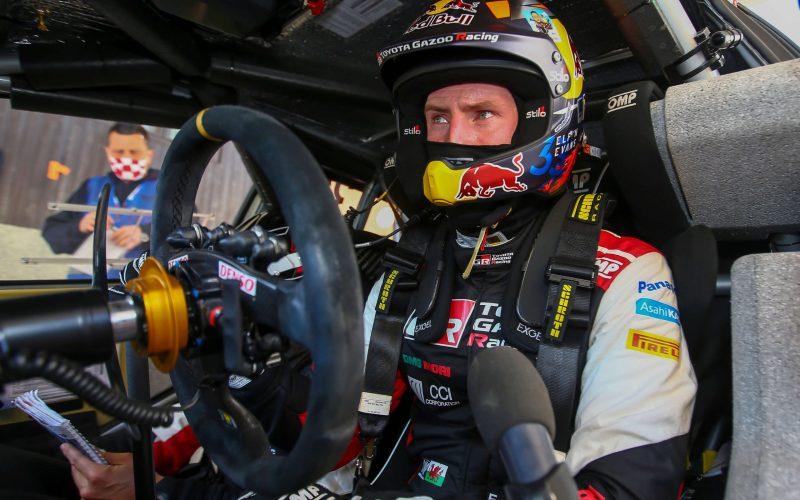 Elfyn Evans Toyota Yaris WRC 2021