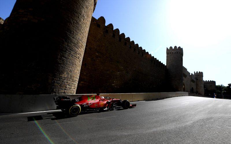 Charles Leclerc Scuderia Ferrari Azerbaijan GP 2021 Q