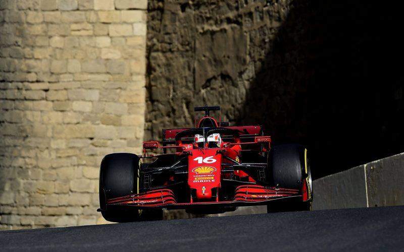 Charles Leclerc Scuderia Ferrari Azerbaijan GP 2021Qualifying