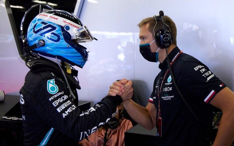 Valtteri Bottas F1 Mercedes 2021 - New contract