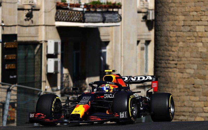 Sergio Perez F1 Red Bull Azerbaijan GP 2021 FP2