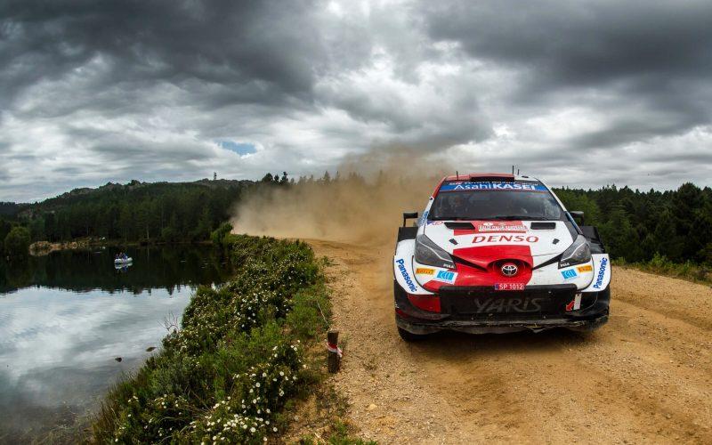 Sebastien Ogier Toyota Yaris WRC Rally Italia Sardegna 2021 Day 2