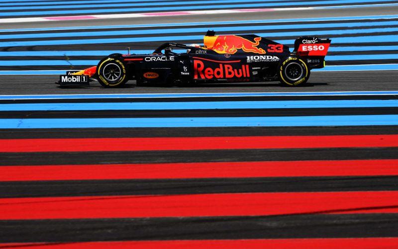 Max Verstapen Red Bull F1 French GP 2021 FP2