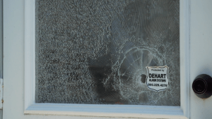Impact resistant window film helps deter break-in