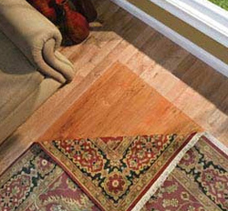 Prevent Fading of Flooring