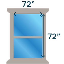 Large Windows (72 x 72)