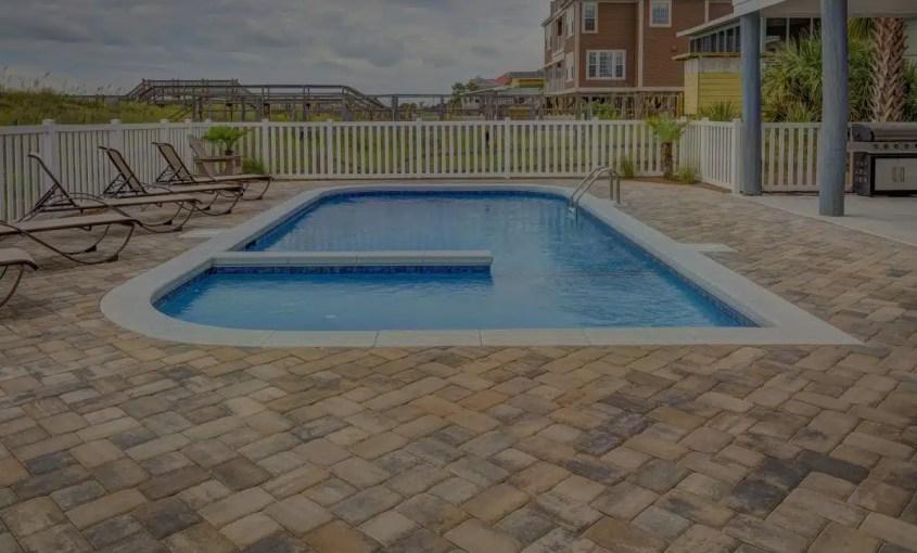 Pool Paver Stone Patio