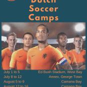 Dutch Soccer Camps 2019 flyer