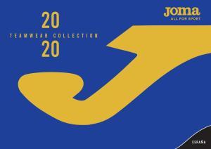 Catálogo Joma - FUTSAL 2020