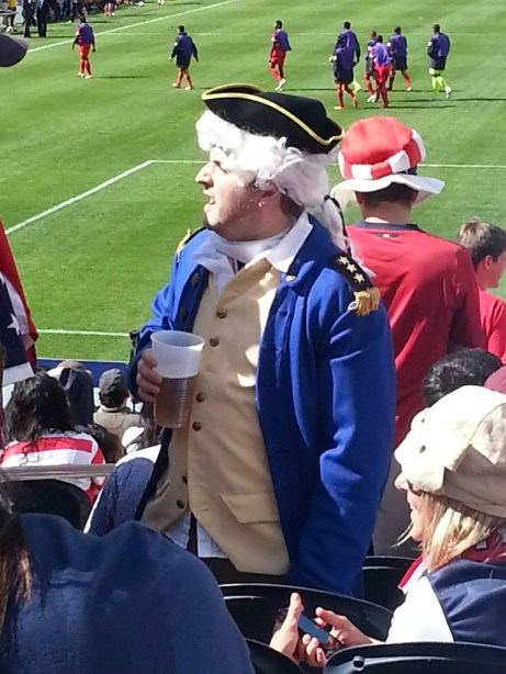 George Washington at Gold Cup