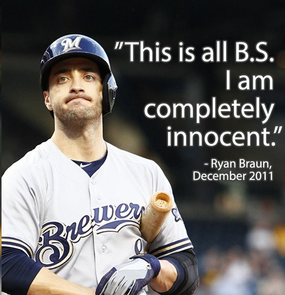 Ryan Braun Liar