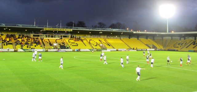 Almondvale Stadium, Livingston