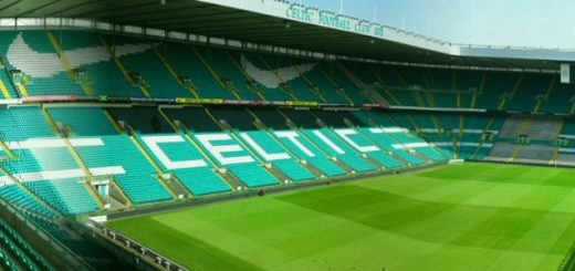 Celtic Park, Glasgow, home of Scottish Premiership side Celtic