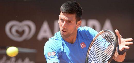 Serbian tennis player Novak Djokovic