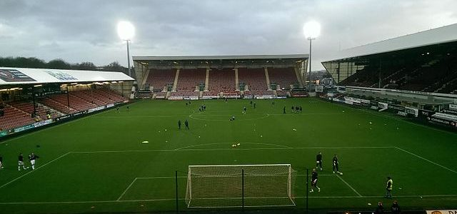 East End Park, home of Scottish Championship side Dunfermline Athletic