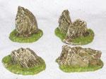 R00RF012 - Rock Formations (medium x 4)