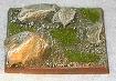 R00FB503 - 50mm square base (stoney / 4 rocks)