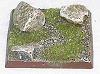 R00FB403 - 40mm square base (3 rocks)
