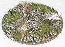 R00FB653 - 60mm flying base (stones & rocks)
