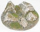 R00FB659 - 60mm flying base (big rocks)