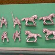GG09  Gallic Cavalry, mail and clipeus