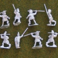 IB08  Celtiberian warriors with spear