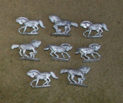 PA11 Unarmoured Horses