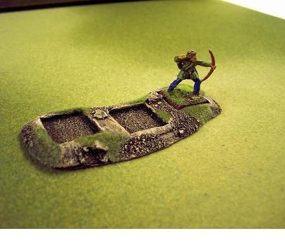 R00MT407 - Skirmish Tray (3 x 20mm)(line)
