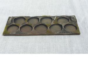 R00MT707 - 25mm tray (round) (9 figs)