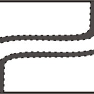 T1J - Left to Right Double curve