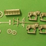 CM23 European Wagon with 4 horse team 1600-1900