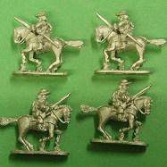 ECW11 Dragoons, Mounted