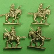 ECW14 Scots Dragoons, Mounted, Bonnet