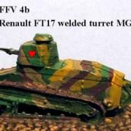 FFV04b FT17 welded turret 37mm