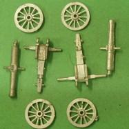 FUG03 French 24 Pdr Siege gun X 2