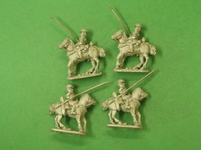 WBC01 Cavalry, Steel Helmet, Lance