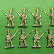 Hi62 Madras Infantry Advancing , Musket and Bayonet
