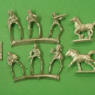 IW01 Plains Indians, mounted, mixed