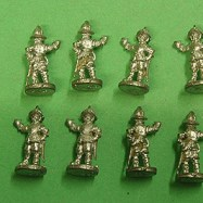 PS03 Pikeman, Breast and Back Plate, Tassets, pot, standing