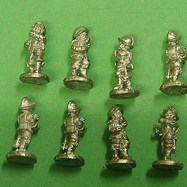 PS05 Pikeman, Breast & Back Plate, Tassets, pot, at ready.