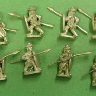 RT01 Turkish Spearmen with Almond shaped shields
