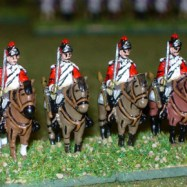 RWB14a British Light Dragoon, Standing Horse