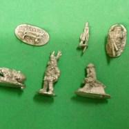 SAM11 Generals, kowtow men, sword and rack