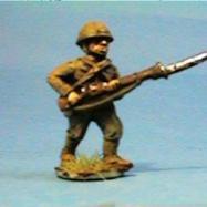 JI03 Japanese rifle advancing