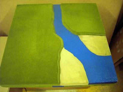 2CL7 - River estuary into sea / Corner coastline