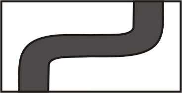 SR1F - Left to Right Double curve